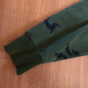 The Hundreds Jackets & Coats - Green Camouflage Hundreds Hoodie!